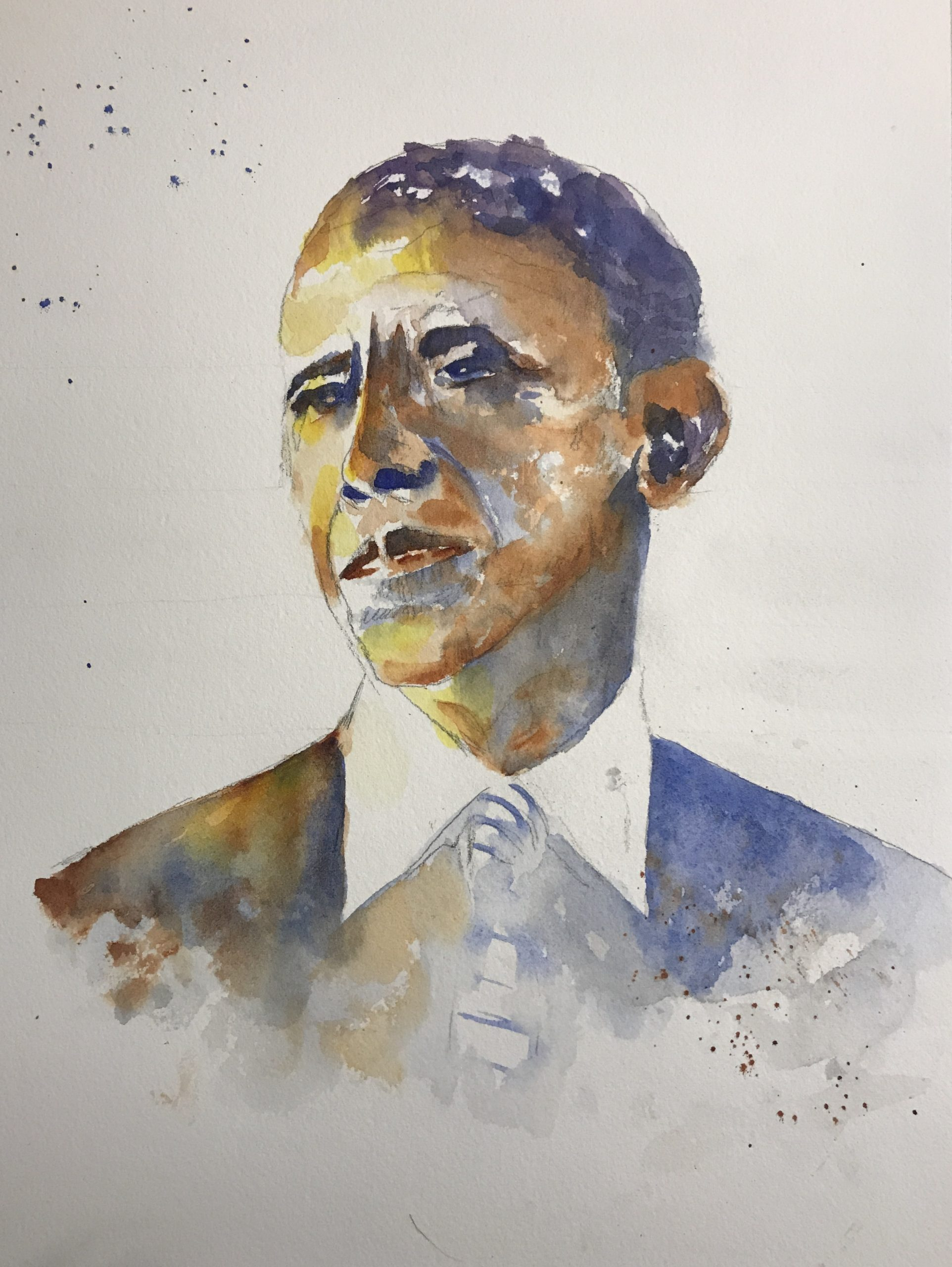 Beautiful & Impactful Watercolor Portraits from Liz Covington