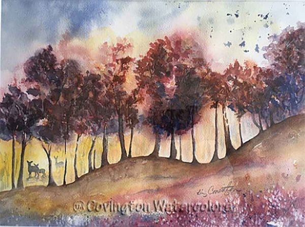 """Forest Entrance 12"""" x 16"""""""