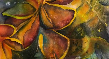 "Liz Covington's ""Dancing with Plumeria"" Featured at the Honey show in Downtown LA April 16th"