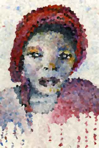 Nigerian House Girl, Pixelated