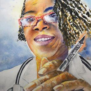 doc elizabeth covington self portrait