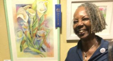 Pasadena Senior Center Artists Reception