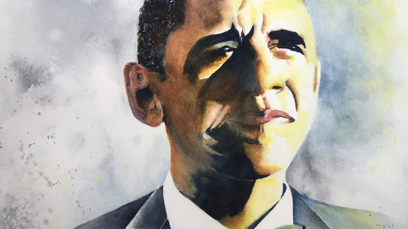 Collect Art From a Political Watercolor Artist