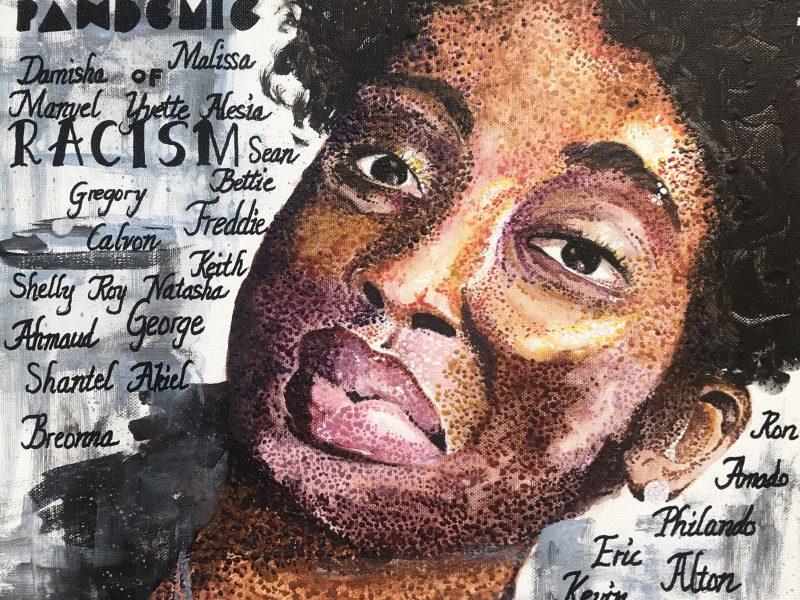 Vital Social Commentary From a Black Lives Matter Artist